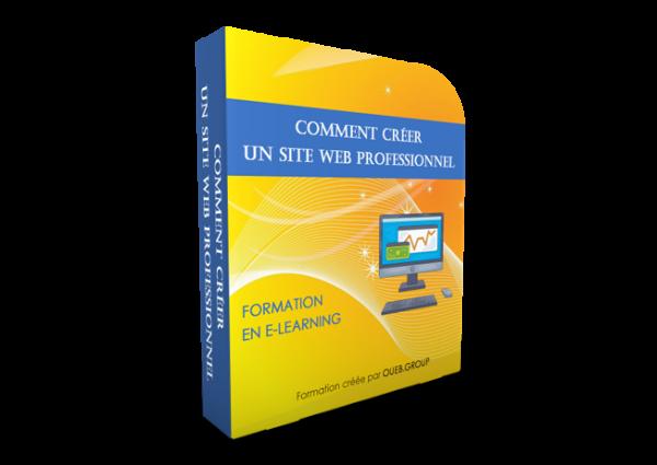 Comment créer un site web professionnel en e-learning